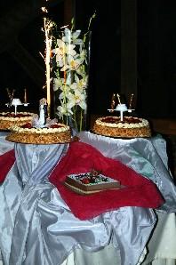 cascade de desserts
